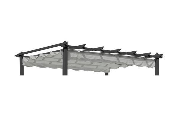 Bilde av Pergolux tak til 3x4 m pergola - lys grå